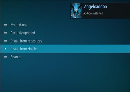 How To Install Kodi Angelo Addon IPTV Step 13