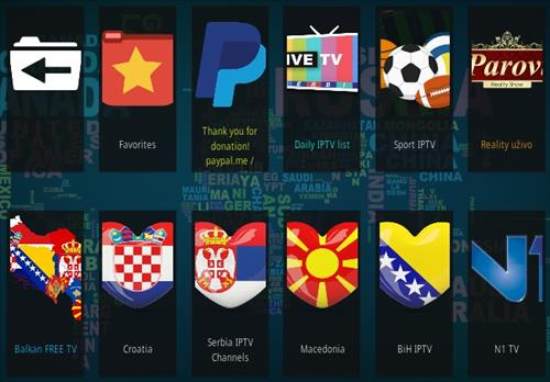 How To Install Live TV Serbia Kodi Addon Overview