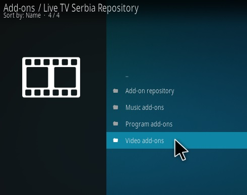 How To Install Live TV Serbia Kodi Addon Step 17