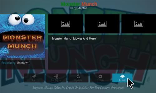 monster munch new addon