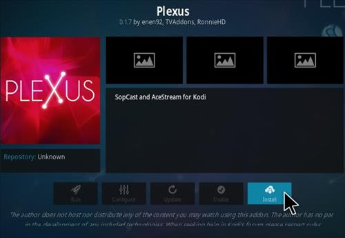 How To Install Plexus Kodi Program Addon Step 19