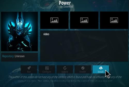 How To Install Power Kodi Addon Step 18