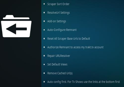 How To Install Remnant Kodi Addon Overview 2