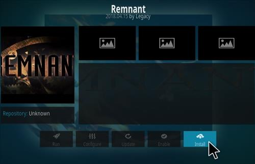 How To Install Remnant Kodi Addon Step 18