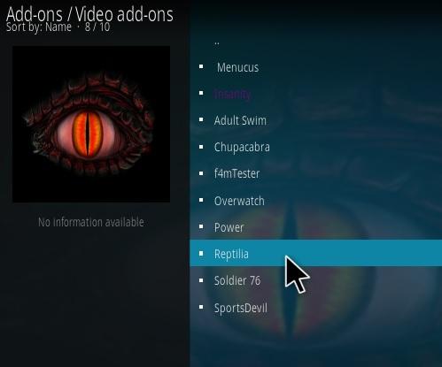 Reptilia video movies
