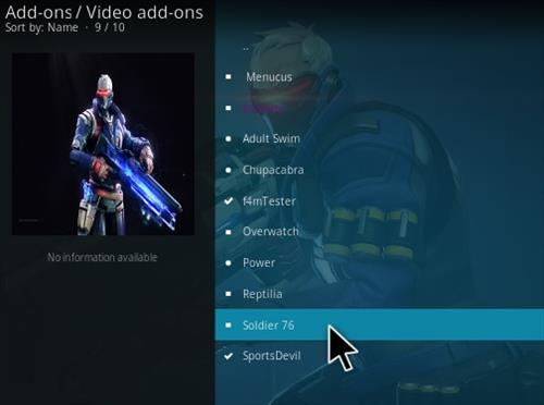 How To Install Solider 76 Kodi Addon Step 18