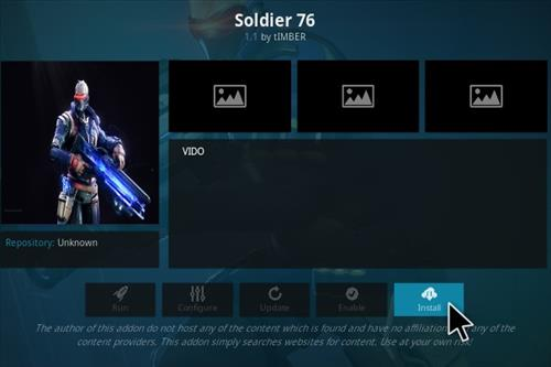 How To Install Solider 76 Kodi Addon Step 19