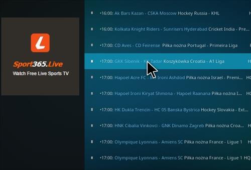 Sport Live 365