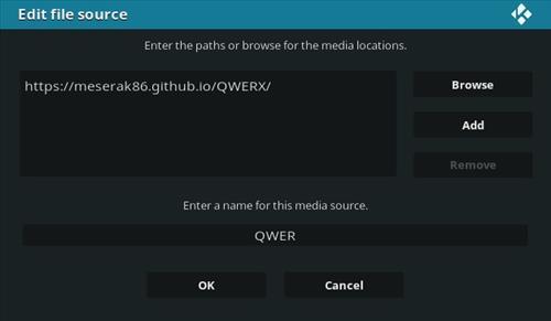 How To Install Sport 365 Live Kodi Addon Qwerx Step 7
