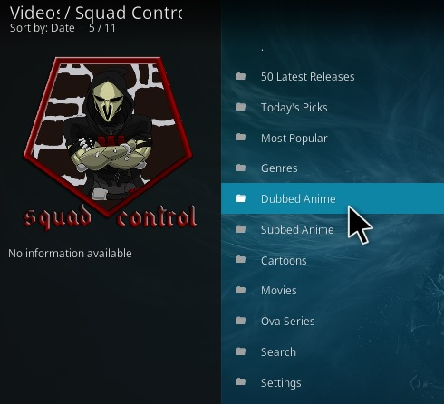 How To Install Squad Control Kodi Addon Overview