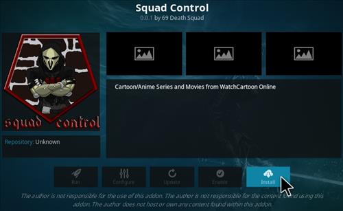 How To Install Squad Control Kodi Addon Step 18