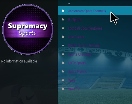 How To Install Supremacy Sports Kodi Addon Overview