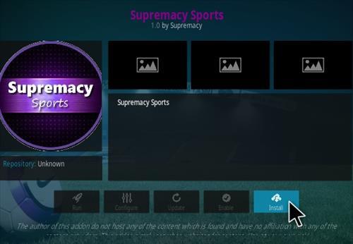 How To Install Supremacy Sports Kodi Addon Step 19