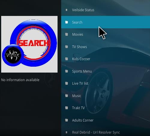 How To Install VEILSIDE Kodi Addon Overview