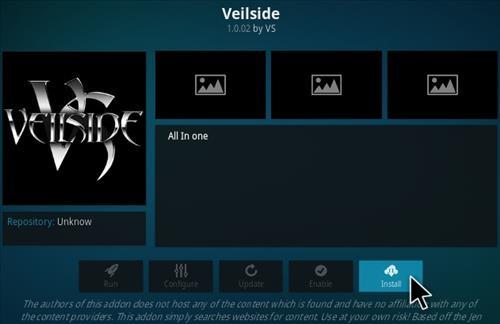 How To Install VEILSIDE Kodi Addon Step 18