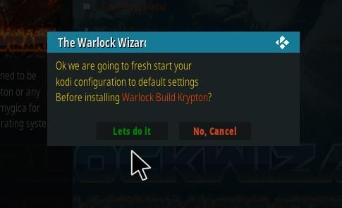 Warlock wizard setup