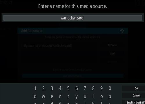 How To Install Warlock Kodi Build Step 6