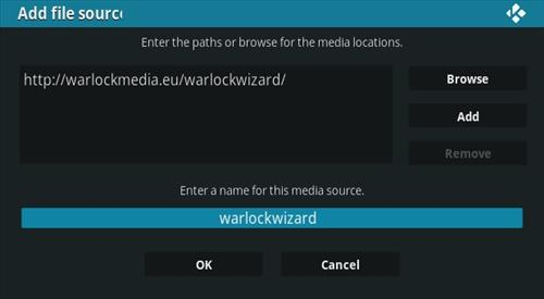 How To Install Warlock Kodi Build Step 7