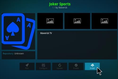 How to Install Joker Sports Kodi Add-on Step 18
