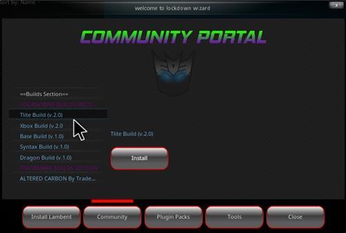 How to Install Lockdown Kodi Wizard Overview