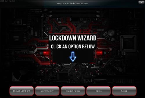 How to Install Lockdown Kodi Wizard