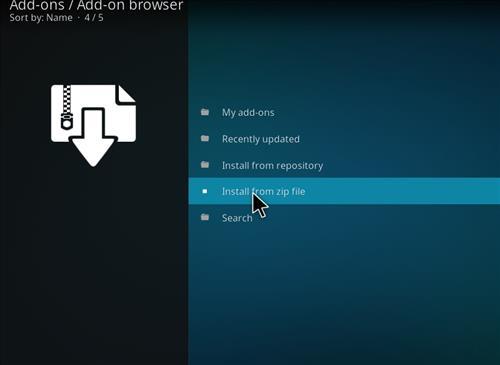 How to Install Mancave Tech Streams Kodi Add-on 10