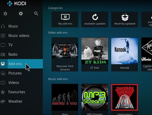 How to Install Mancave Tech Streams Kodi Add-on 8