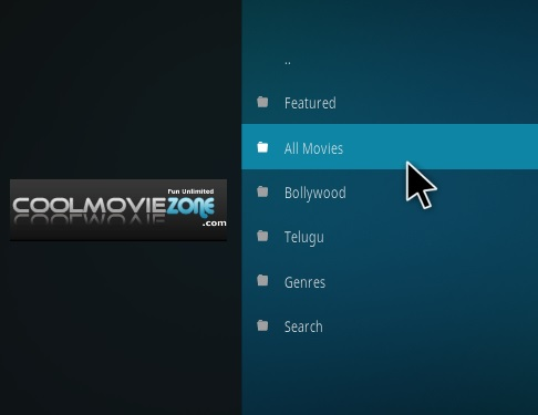 How to Install Movie Zone Kodi Add-on Overview
