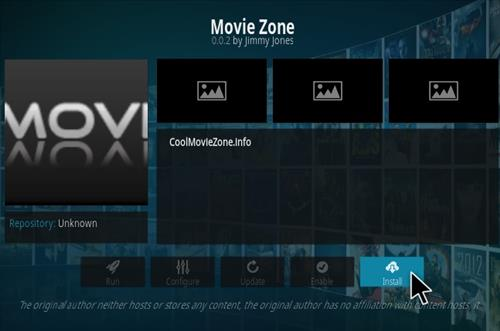 How to Install Movie Zone Kodi Add-on Step 18