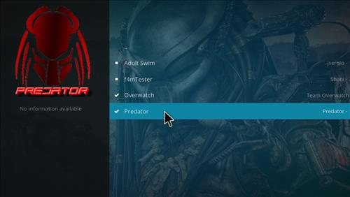 How to Install Predator Kodi Add-on 17