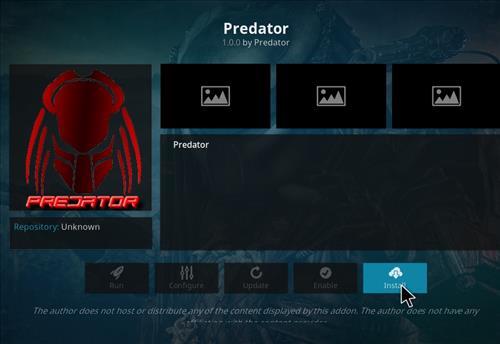 How to Install Predator Kodi Add-on 18