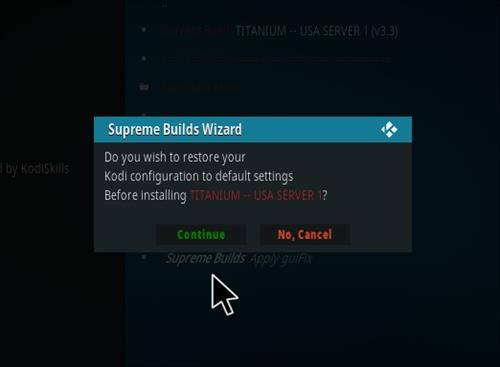 How to Install Titanium Kodi Build 2018 Step 255