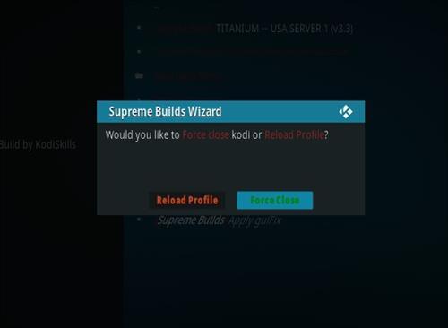 How to Install Titanium Kodi Build 2018 Step 27