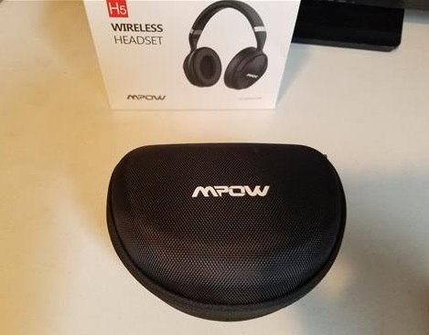 Review Mpow H5 Active Noise Cancelling Bluetooth Headphones Case