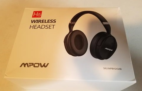Review Mpow H5 Active Noise Cancelling Bluetooth Headphones