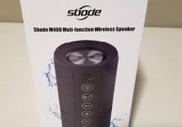 Review Sbode M400 Portable Waterproof Bluetooth Speaker
