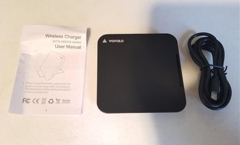 Review Wofalo Fast Wireless Charger for iPhone X Galaxy S8 ALL
