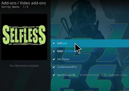 Steps To Install Selfless Kodi Addon Using Bookmark Repo Step 17
