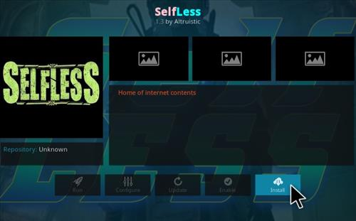 Steps To Install Selfless Kodi Addon Using Bookmark Repo Step 18