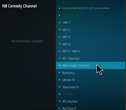 How To Install Don TV Kodi Addon Overview