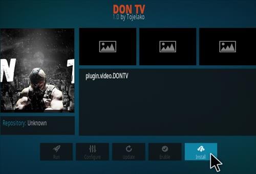 How To Install Don TV Kodi Addon Step 18