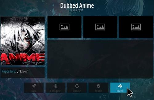 How To Install Dubbed Anime Kodi Addon Step 18