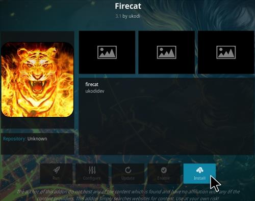 How To Install Firecat Kodi Addon Step 19