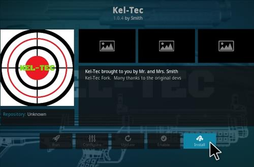 How To Install KEL TEC Kodi Addon Step 18
