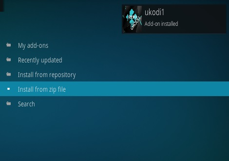 How To Install Kratos Kodi Addon Step 14