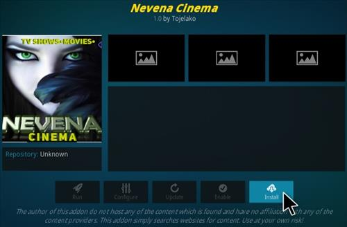 How To Install Nevena Cinema Kodi Addon Step 18