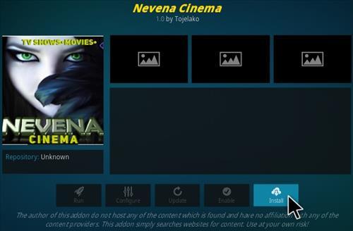 How To Install Nevena Cinema Kodi Addon Step 18