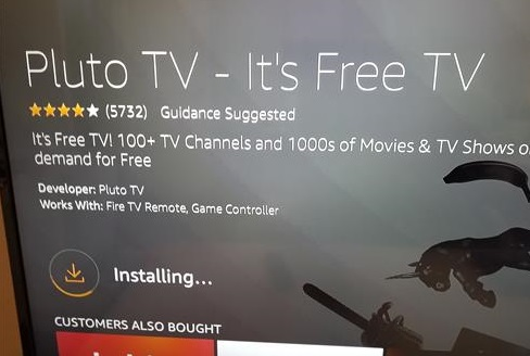 How To Install Pluto TV Free TV App to an Amazon Fire TV Stick Step 5
