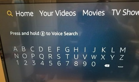 How To Install Pluto TV to an Amazon Fire TV Stick Step 1