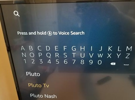 How To Install Pluto TV to an Amazon Fire TV Stick Step 2
